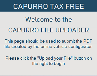 Capurro file uploader