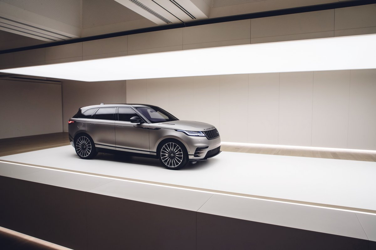 WORLD PREMIERE - NEW RANGE ROVER VELAR UNVEILED AT THE DESIGN MUSEUM, LONDON