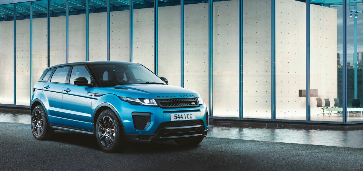 LAND ROVER CELEBRATES RANGE ROVER EVOQUE LANDMARK WITH SPECIAL EDITION