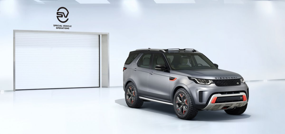 EW DISCOVERY SVX - LAND ROVER REVEALS ALL-TERRAIN CHAMPION AT FRANKFURT IAA