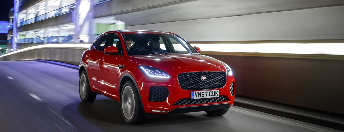 JAGUAR E-PACE ACHIEVES FIVE-STAR EURO NCAP SAFETY RATING