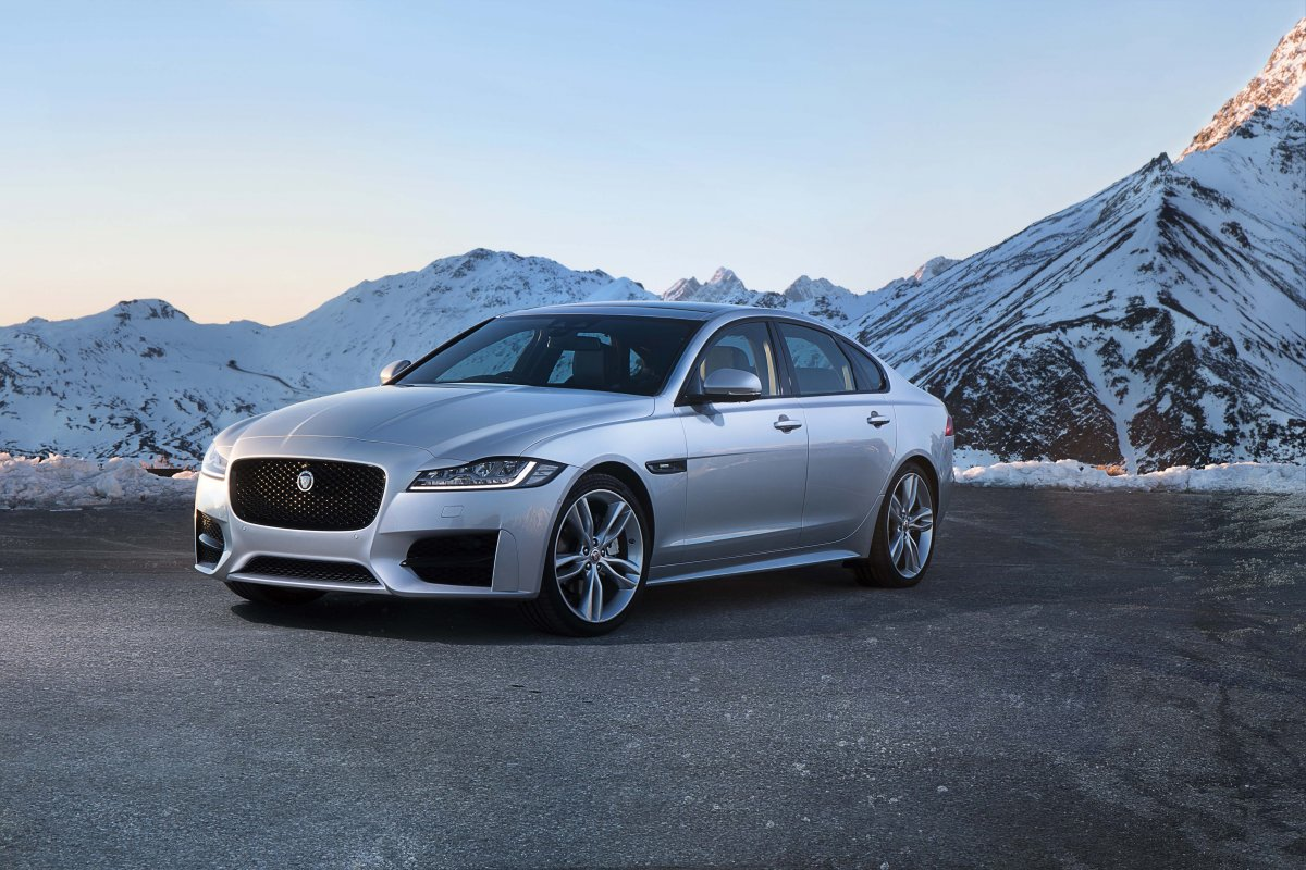 The All-New Jaguar XF: Diesel All-Wheel Drive and Even More Driver-Focussed Chassis Dynamics