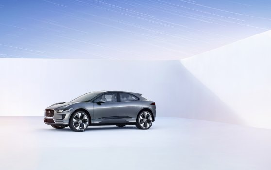 JAGUAR REVEALS THE I-PACE CONCEPT - THE ELECTRIC PERFORMANCE SUV